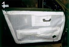 Фото Термоизоляция на ВАЗ-2110. Теплые двери