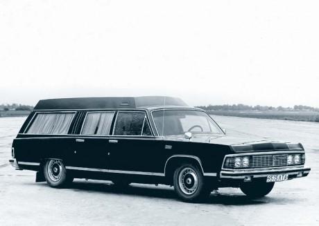 Фото «За рулем»: Универсал на базе «Чайки» ГАЗ-14, созданный в 1983-м на РАФе.
