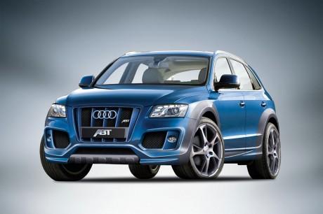 Новенький паркетник Audi Q5 от тюнера ABT