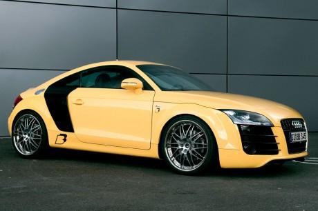 Мастера BB показали жёлтый ультиматив Audi TTS