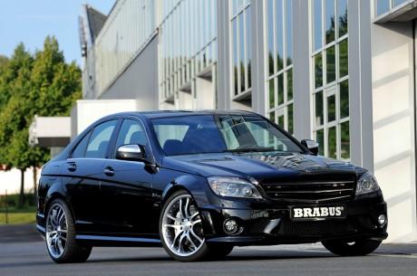 Brabus показал свой вариант нового Mercedes C63 AMG